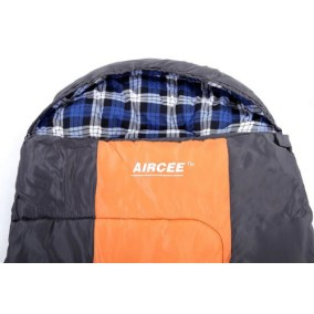 Camping Hooded Sleeping Bag With Pillow 2
