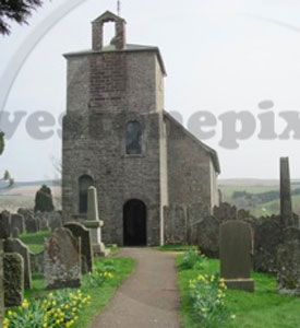 Bewcastle Church, Cumbria