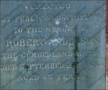 Robert Anderson - The Cumberland Bard