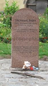 Greyfriars Bobby gravestone