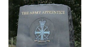 New national memorial to The Army Apprentice