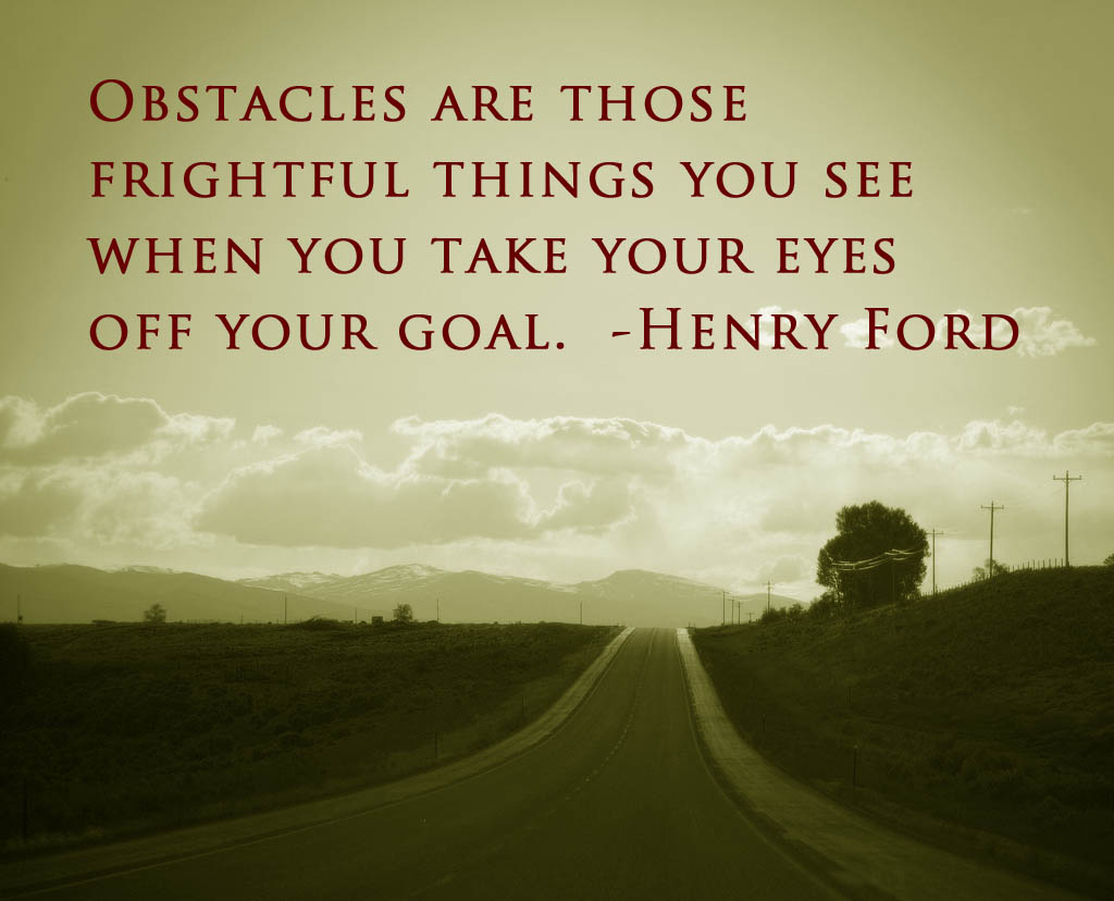 Motivational Quotes Overcoming Obstacles