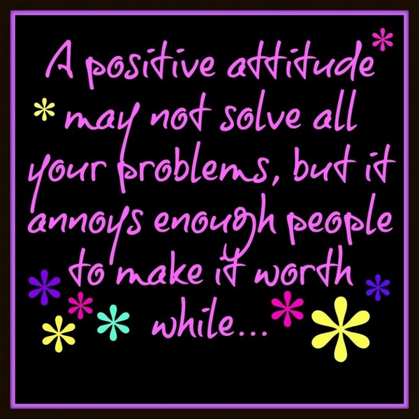 Positive Thoughts Day