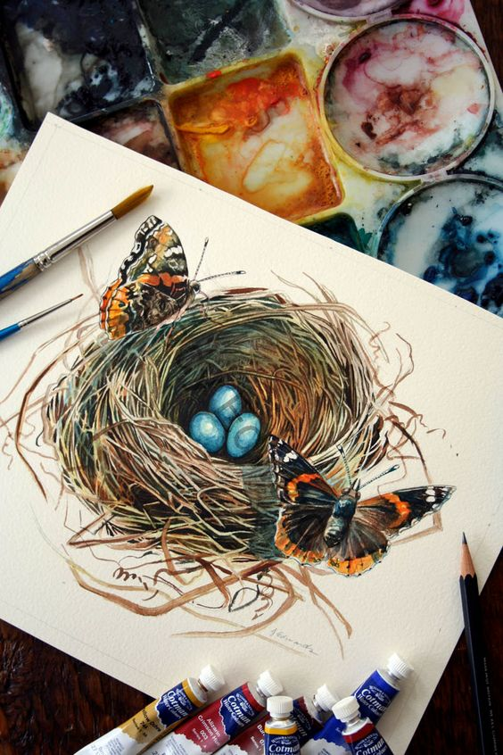 35 Easy Diy Bird Nest Decorations For A Beautiful Easter