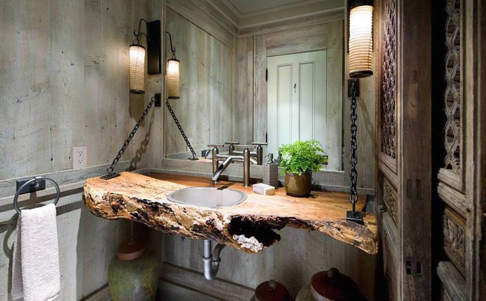45 Vintage And Rustic Bathroom Designs For Homes With Artistic Interiors