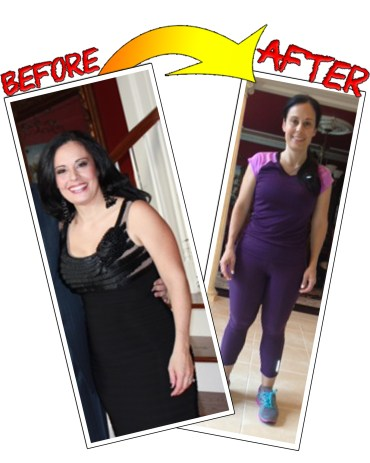 Personal training and boot camp client Stephanie Corba