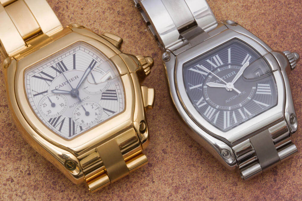 Five of Our Favorite Cartier Watches for Men   Gray   Sons Roadster Cartier Watches for Men