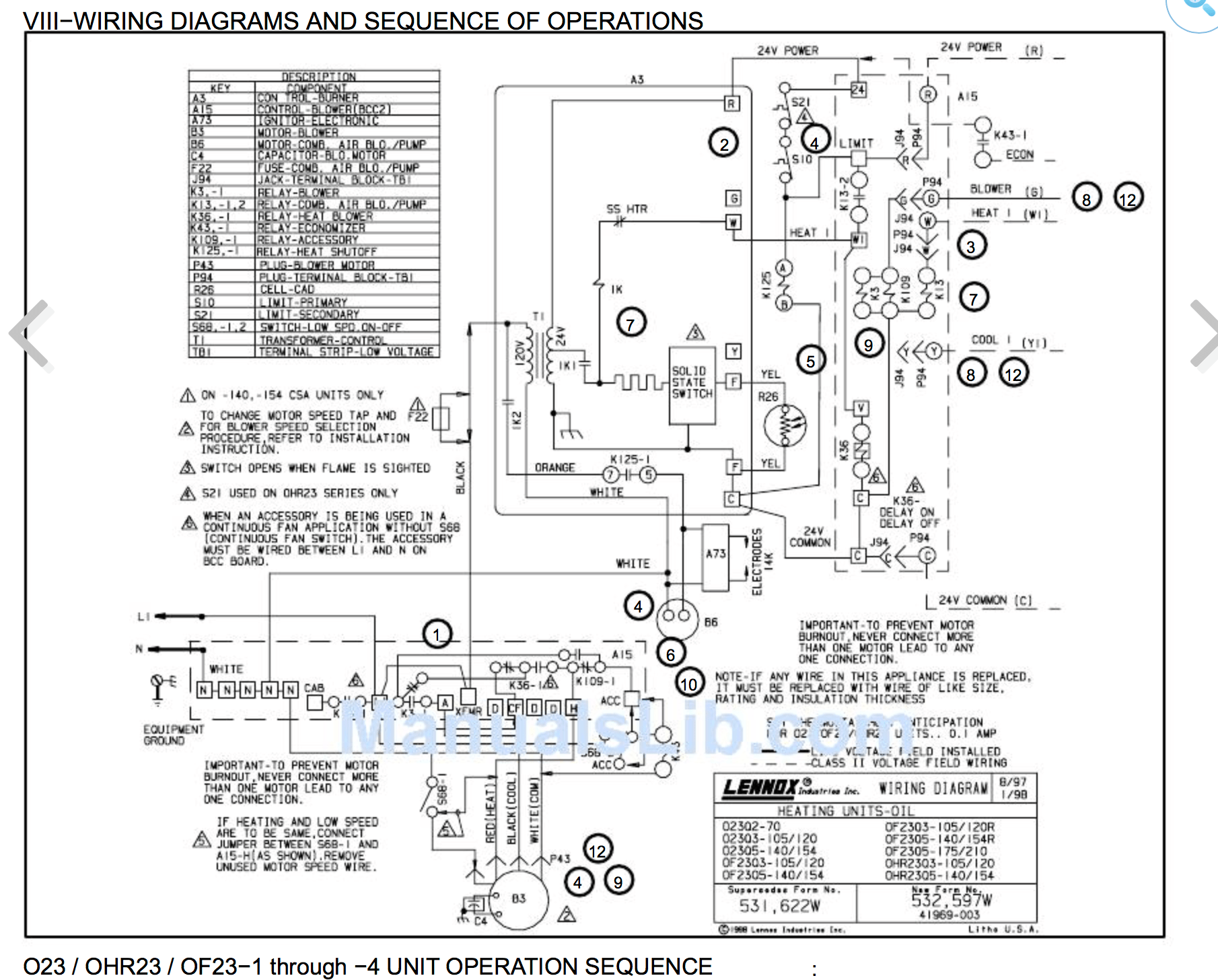 Bryant Wiring Diagrams