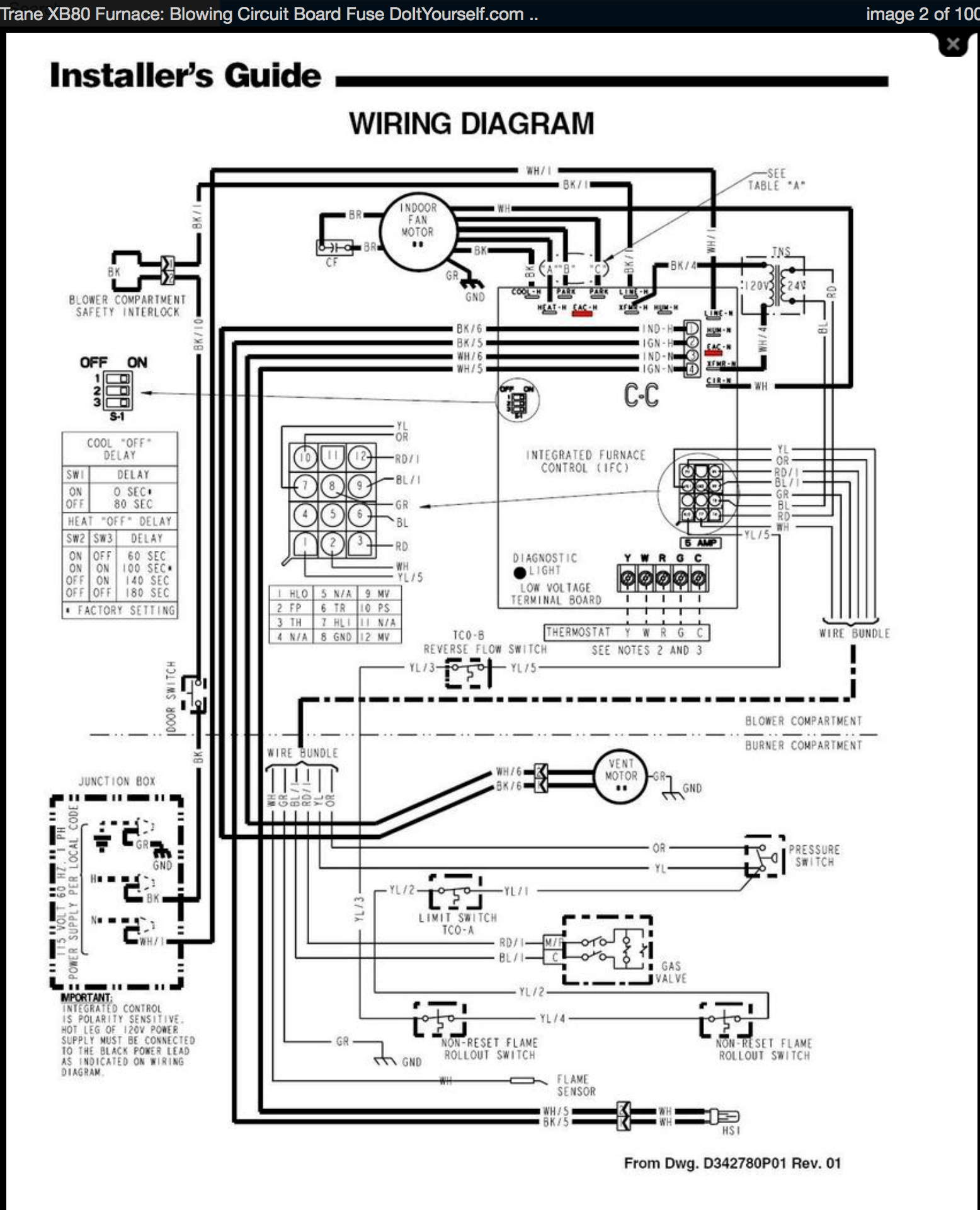 Payne Thermostat Wiring