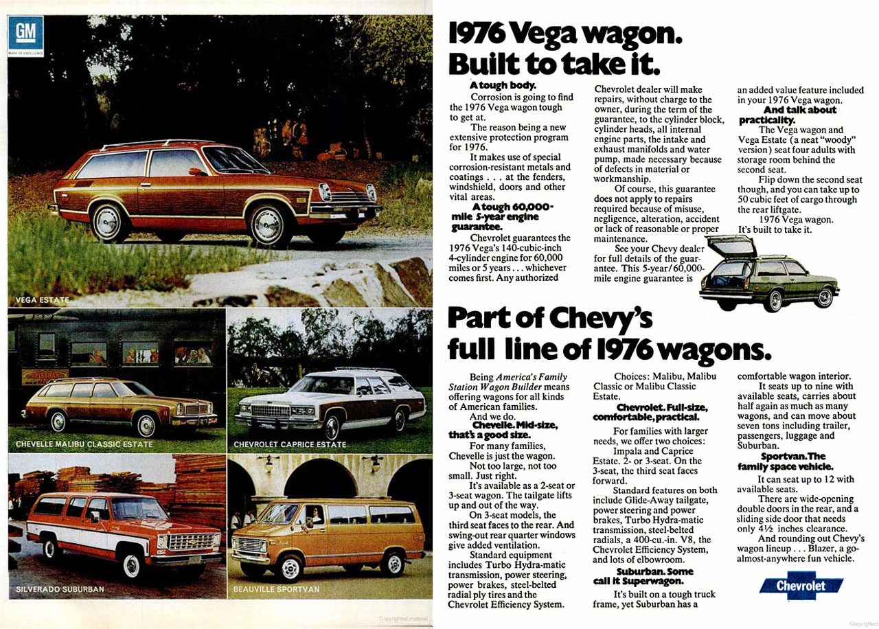 1975 Chevrolet New Car and Truck Advertisements   grayflannelsuit net 1975 Chevrolet Full Size Wagons ad