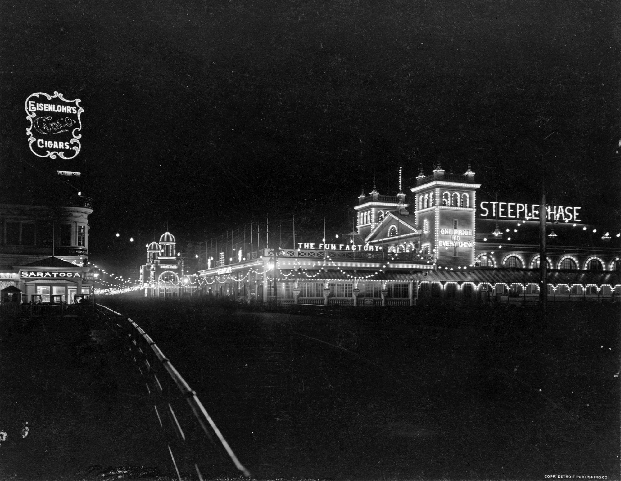 Atlantic City Boardwalk Night