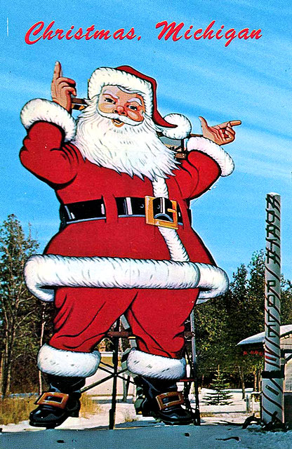 Ho Ho Ho A Gallery Of Vintage Santa Amp Christmas Postcards