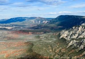 View of Dinosaur National Monument, Colorado.