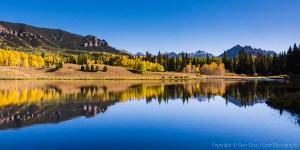 Beaver Lake - Cimarron Mountains of Colorado