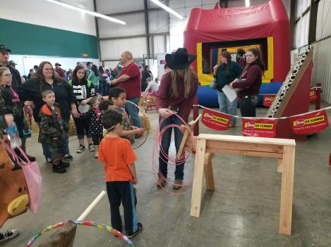 Grays Harbor Mounted Posse Indoor Rodeo Kids Day 7