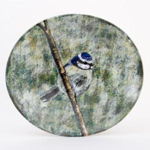 Blue Tit Oval Platter