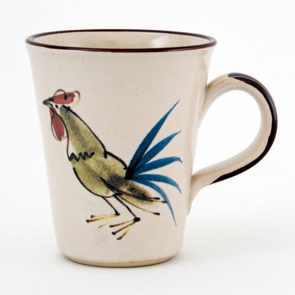 Cockerel Conical Mug