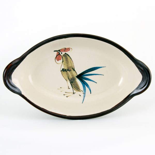 Cockerel Oval Baker