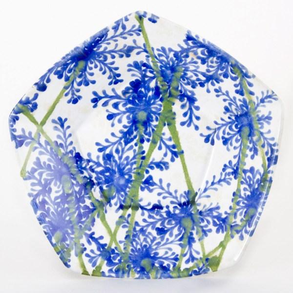 Cornflower Pentagonal Bowl