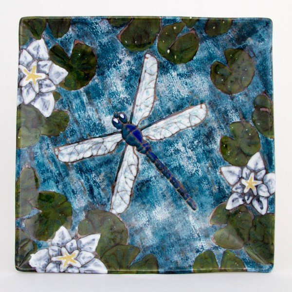 Dragonfly Square Platter