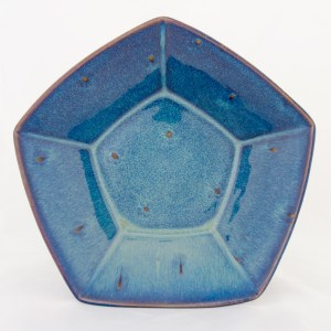 Forget Me Not Pentagonal Bowl