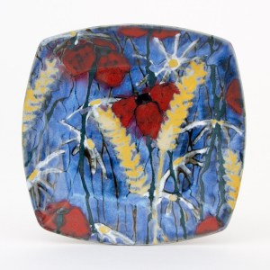 Hay Meadow Square Plate