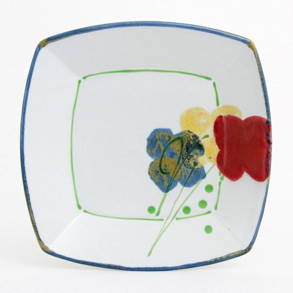 Poppy Square Plate
