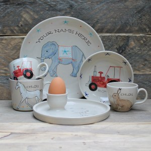 Personalised Children's Pottery