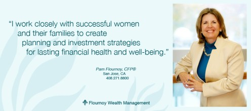 Flournoy Wealth Management homepage panel, Gray Sky Studio