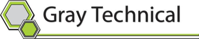 Logo - Gray Tech 2 d