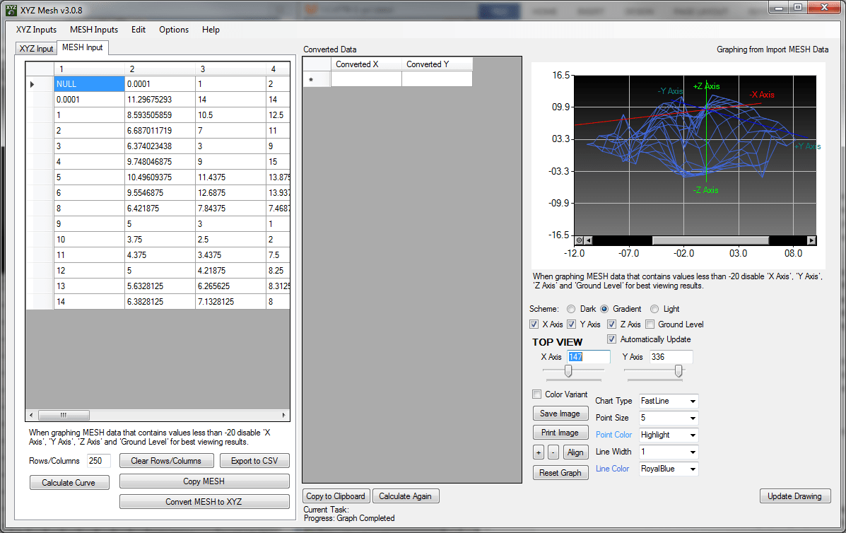 How to Graph 3D XYZ Data inside Excel - MESH, Surface and