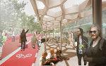 So könnte sich die zentrale ÖV-Achse durch Reininghaus in einigen Jahren präsentieren. (Rendering freiland Consulting + Architektur Hohensinn)
