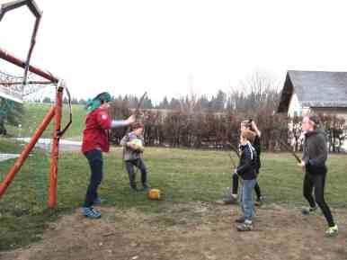 Hufflepuff beim Quidditchturnier