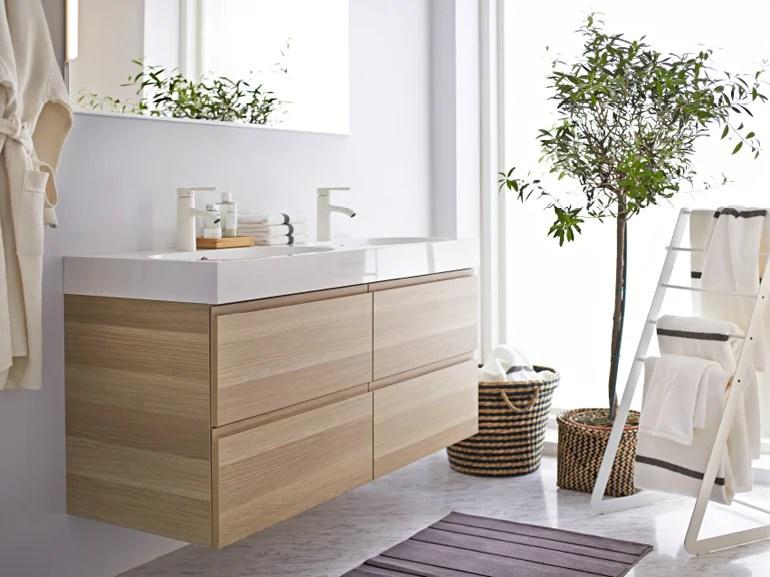 Bagno Ikea Legno Ispirazione Per La Casa