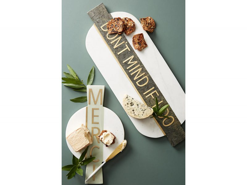 2. Festive Marble Cheese Board
