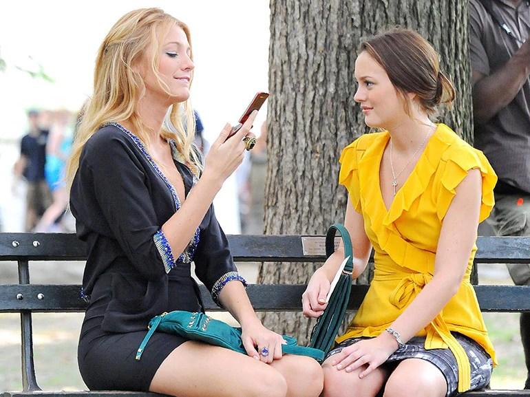Blair e serena telefono