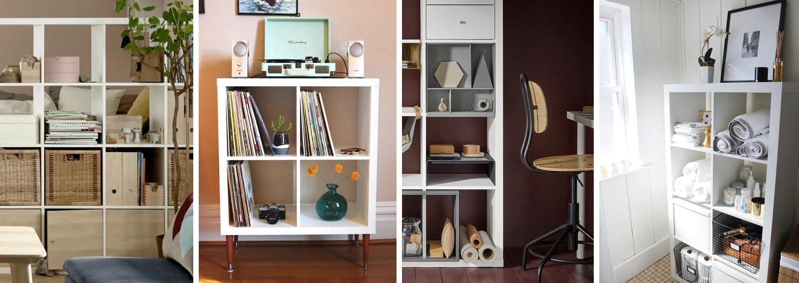 Come Usare La Libreria Kallax Di Ikea In Ogni Stanza Graziait