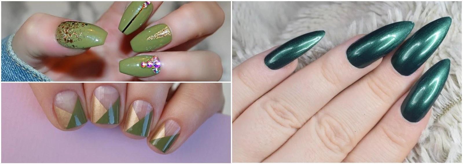 Nail Art Verde Le Idee Piu Belle A Cui Ispirarsi Per La Manicure