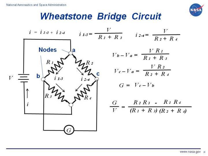 Nasa - Wheatstone Bridge