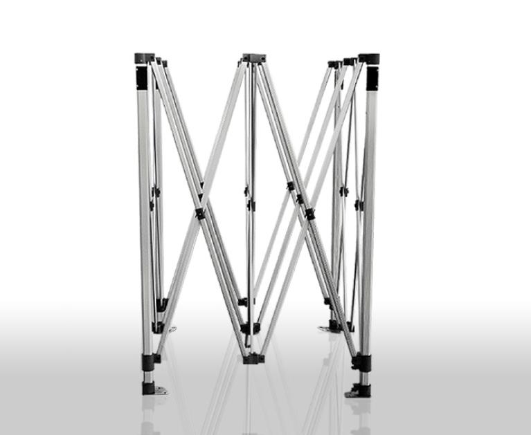 barnum pliant 4x4m 50mm en aluminium premium pro 520gr m2 pvc pack 4 murs amovibles