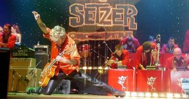 Brian Setzer Cancels Christmas Tour