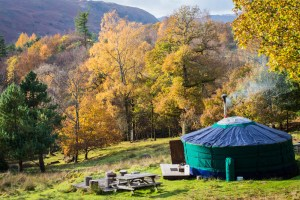 Yurt at Full Circe campsite