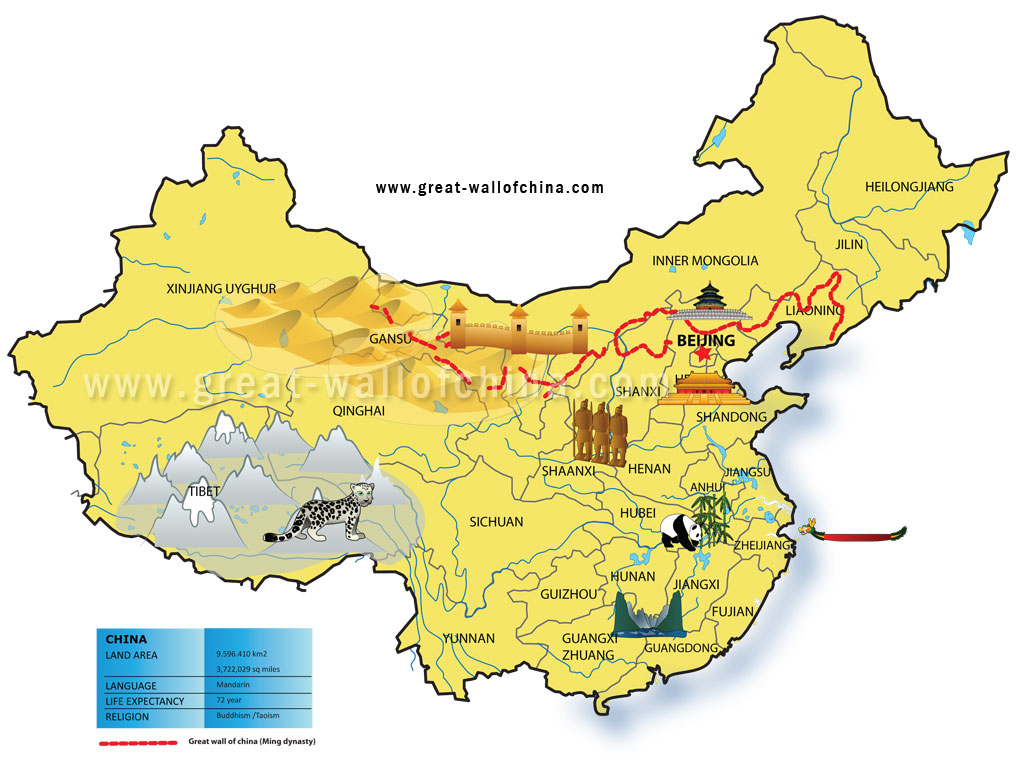 Map Of China Beijing