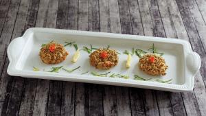 Georgia Pecan Seafood Cakes Recipe