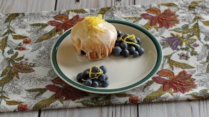Iced Blueberry Cupcakes Recipe