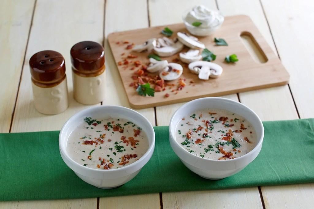 cream-of-mushroom-bacon-soup