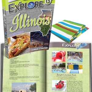 Eat and Explore Illinois Cookbook