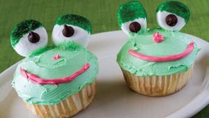 Frog Cupcake Recipe