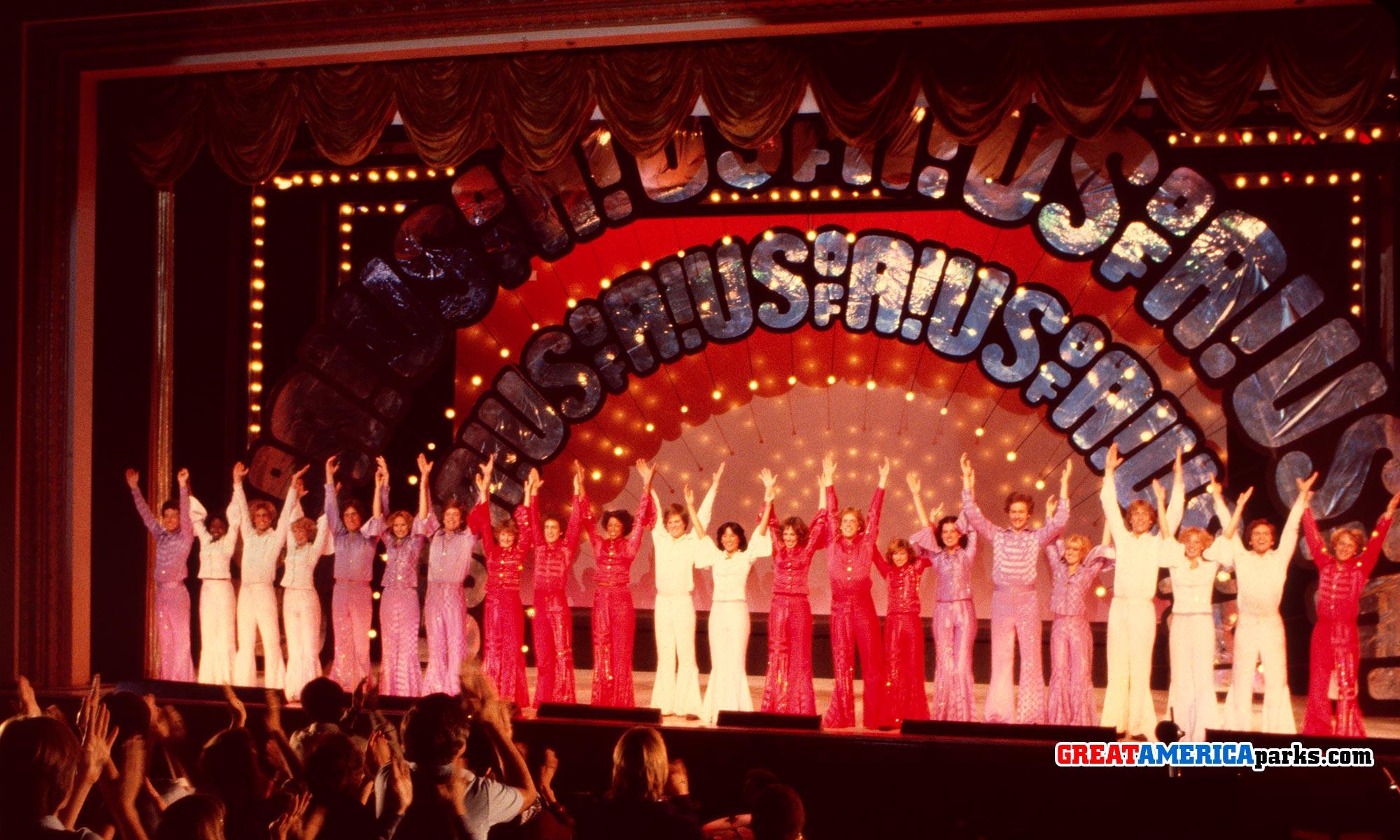 Marriott's Great America shows: Music! America! 1976