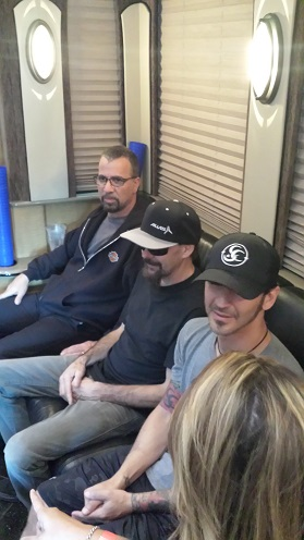 Chatting with Godsmack